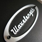 Wavelength Audio Brick v2/v3 USB DAC - Top logo close up