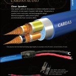 Cardas Clear Speaker Cable Literature Sheet