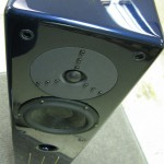 Merlin VSM Speaker in Black Ice Blue Premium Clear Coat Finish