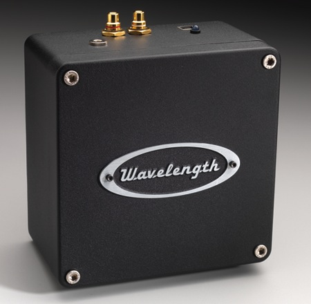 Wavelength Audio Brick v2/v3 USB DAC - Top rear view
