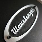 Wavelength Audio Brick v2/v3 USB DAC - Top logo close up