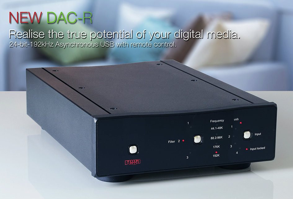 Rega Research DAC-R Hi-Resolution Digital to Analog Converter