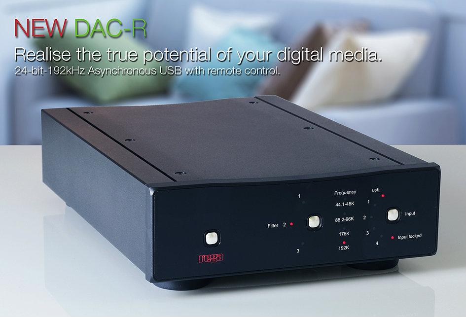 Rega Research DAC-R Hi-Resolution Digital to Analog Converter