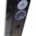 Merlin VSM Speaker in Piano Black Premium Clear Coat Finish