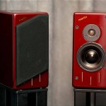 Merlin TSM Speakers in Red Premium Finish