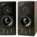 Merlin TSM Speakers in Studio Black Finish